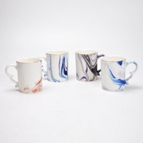 Water Color Mug Diy Ceramic Mug Designs