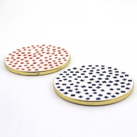 porcelain coaster sets